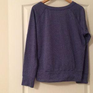 adidas Tops - Blue Adidas sweatshirt